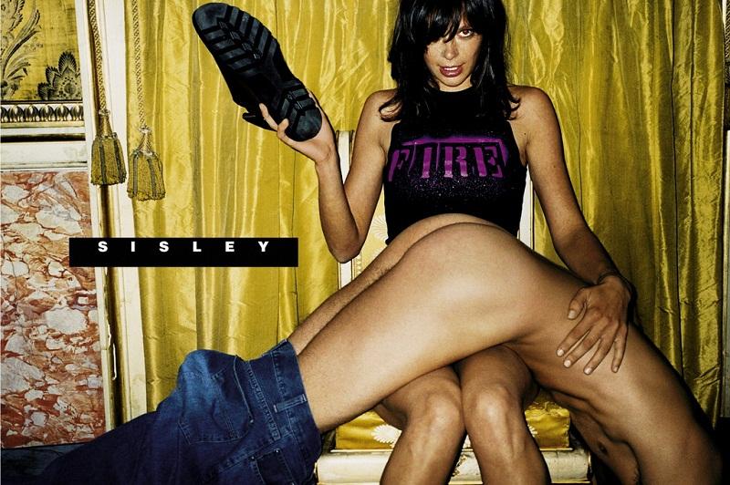 Ещё один пример провокационной рекламы от марки Sesley