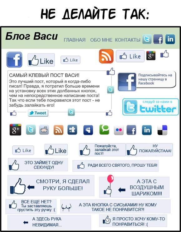 Как получить больше лайков на Facebook